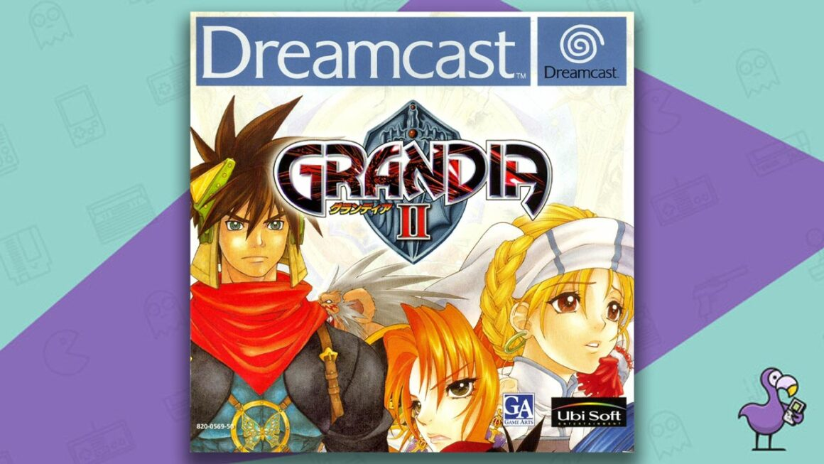 best Dreamcast games - Grandia 2 Game Case Cover Art
