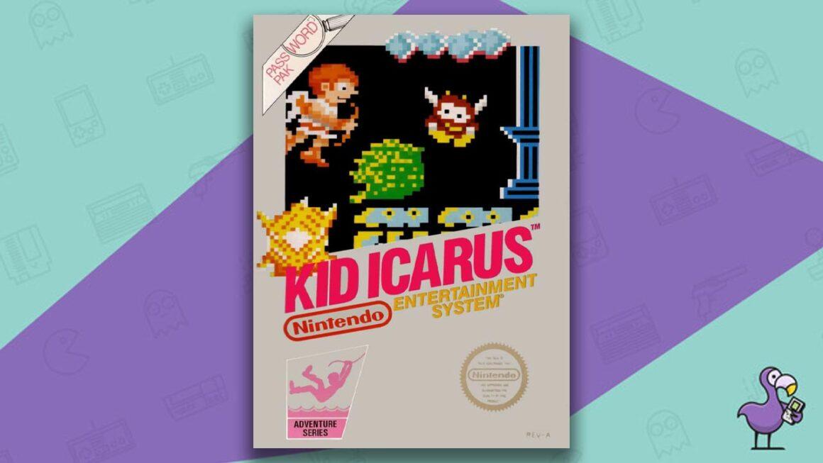 Best NES Games - Kid Icarus game case