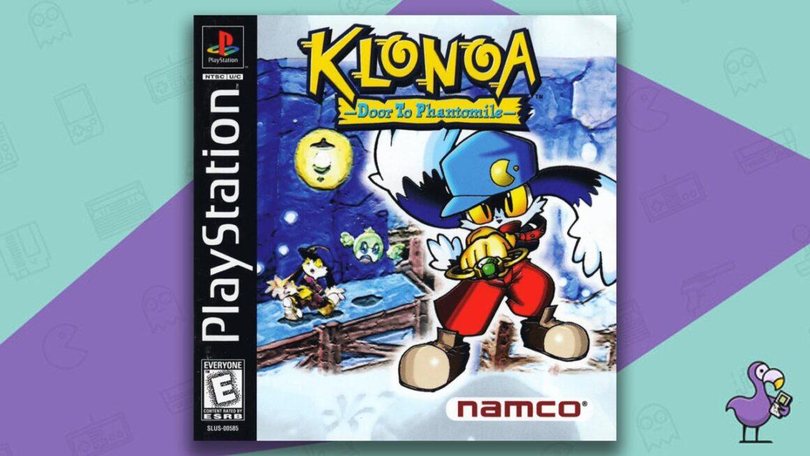 Best PS1 Games - Klonoa: Door to Phantomile game case cover art