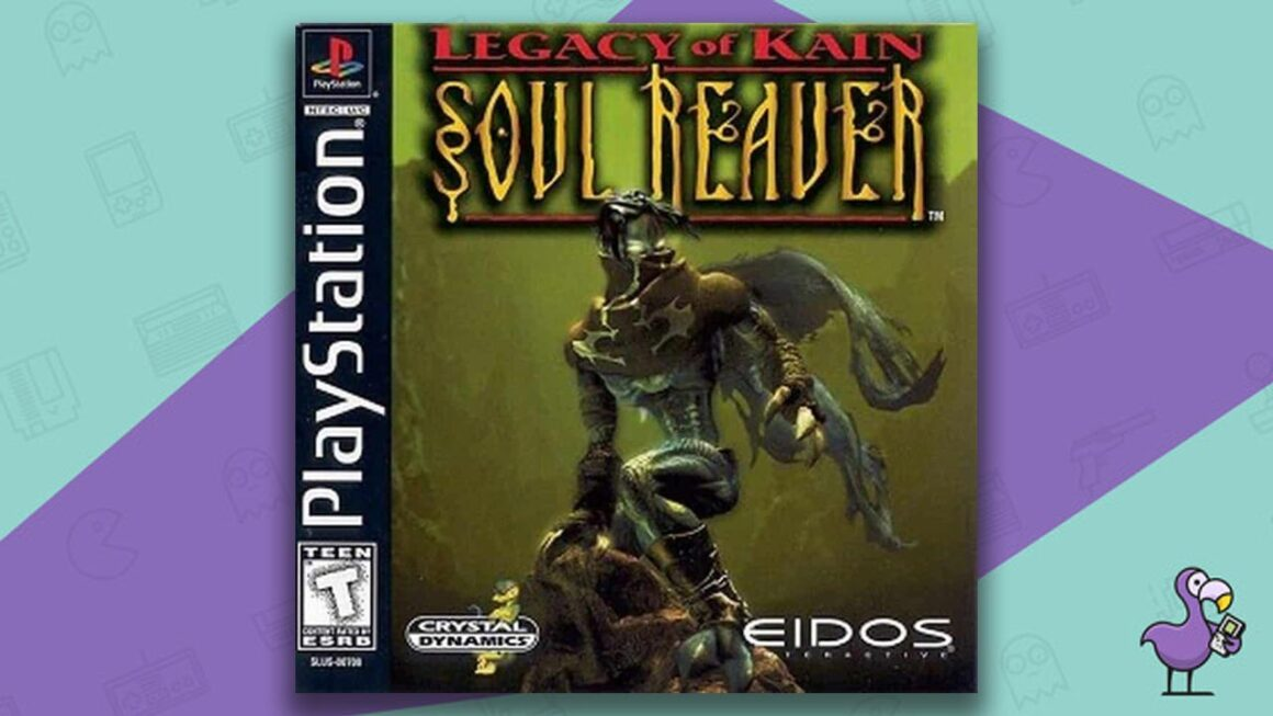 Best PS1 Games - Legacy of Kain: Soul Reaver game case cover art