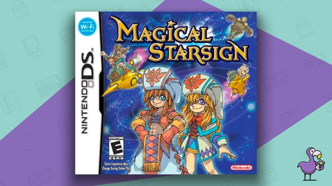 Best DS RPGs - Magical Starsign game case cover art