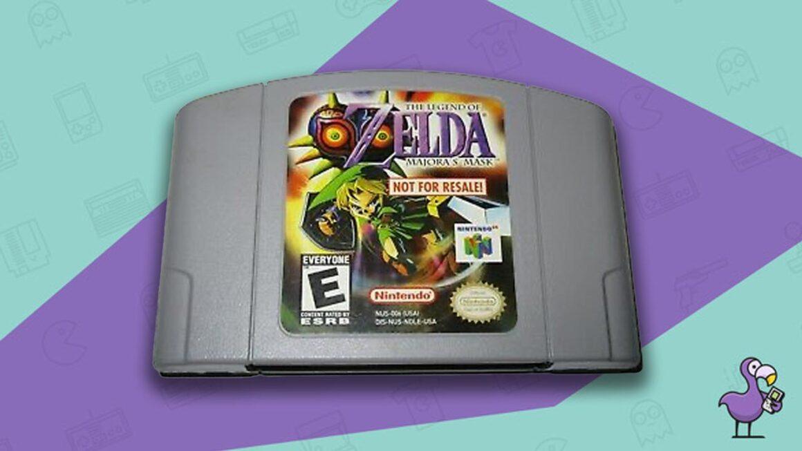 Rare N64 Games - Majora's Mask Not For Resale Game Cart