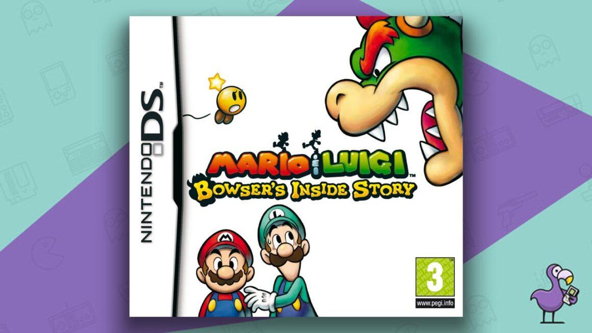Best DS RPGs - Mario & Luigi: Bowser's Inside Story Game Case Cover Art
