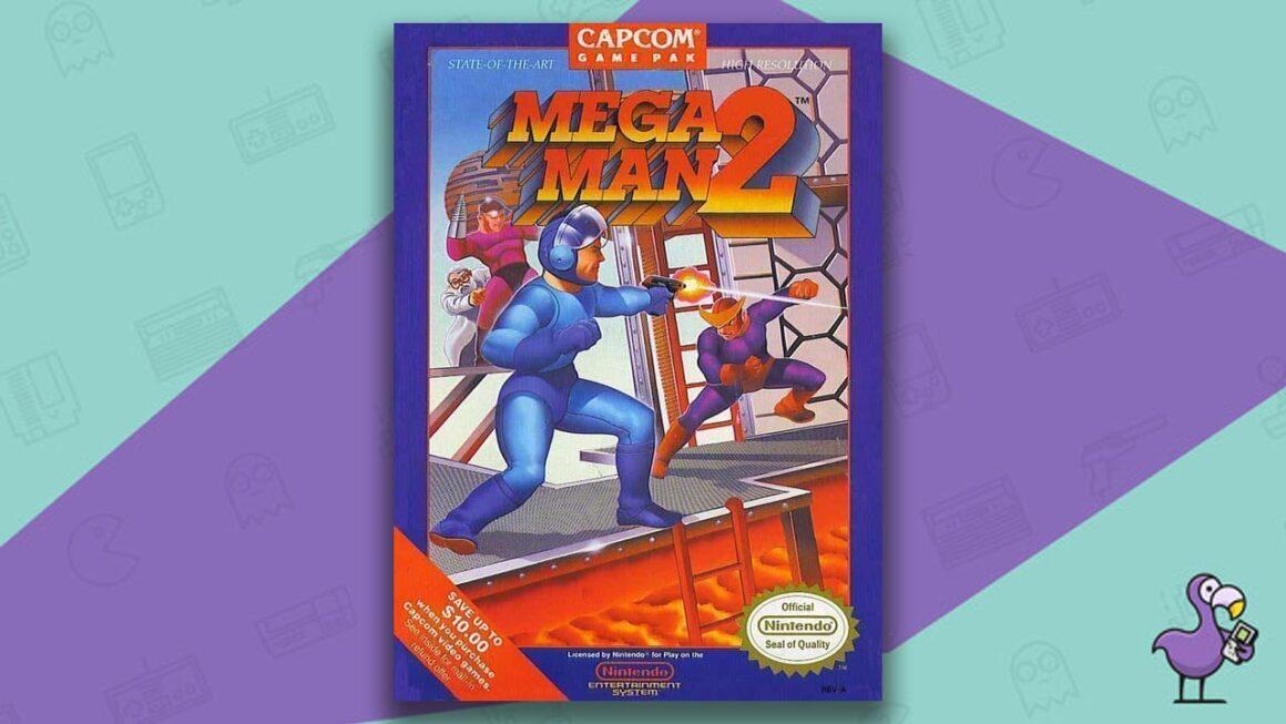 Best NES Games - Mega Man 2 game case