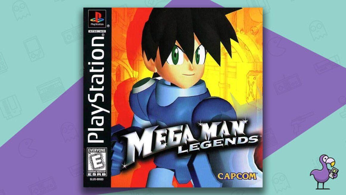 Best PS1 Games - Mega Man Legends game case cover art