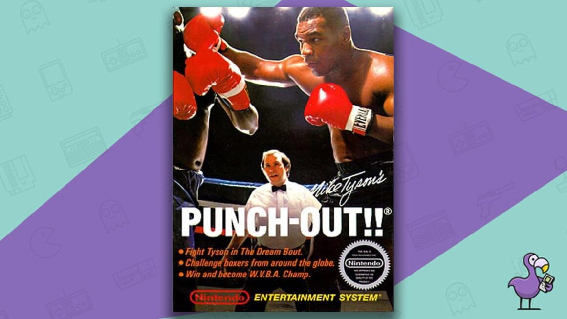 Best NES Games - Mike Tyson' Punch Out!! Game Case