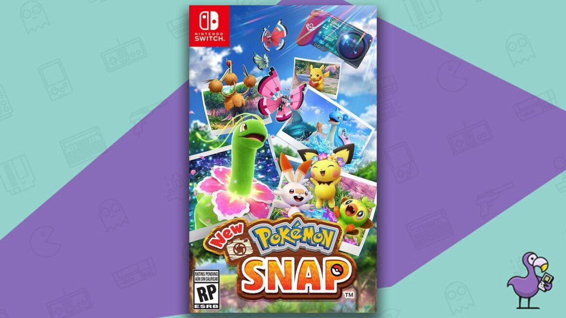 Best Nintendo Switch Games - New Pokemon Snap game case cover art