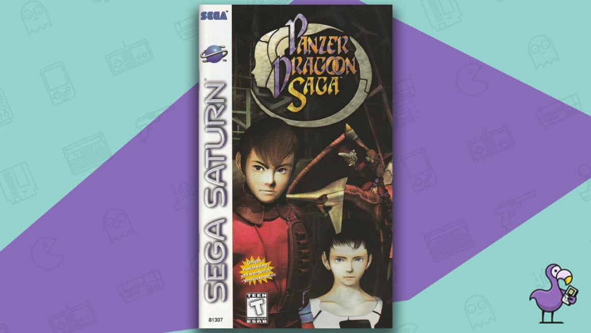 Best Sega Saturn RPGs - Panzer Dragoon Saga game case cover art