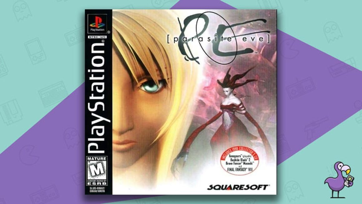 Best PS1 Games - Parasite Eve game case cover art