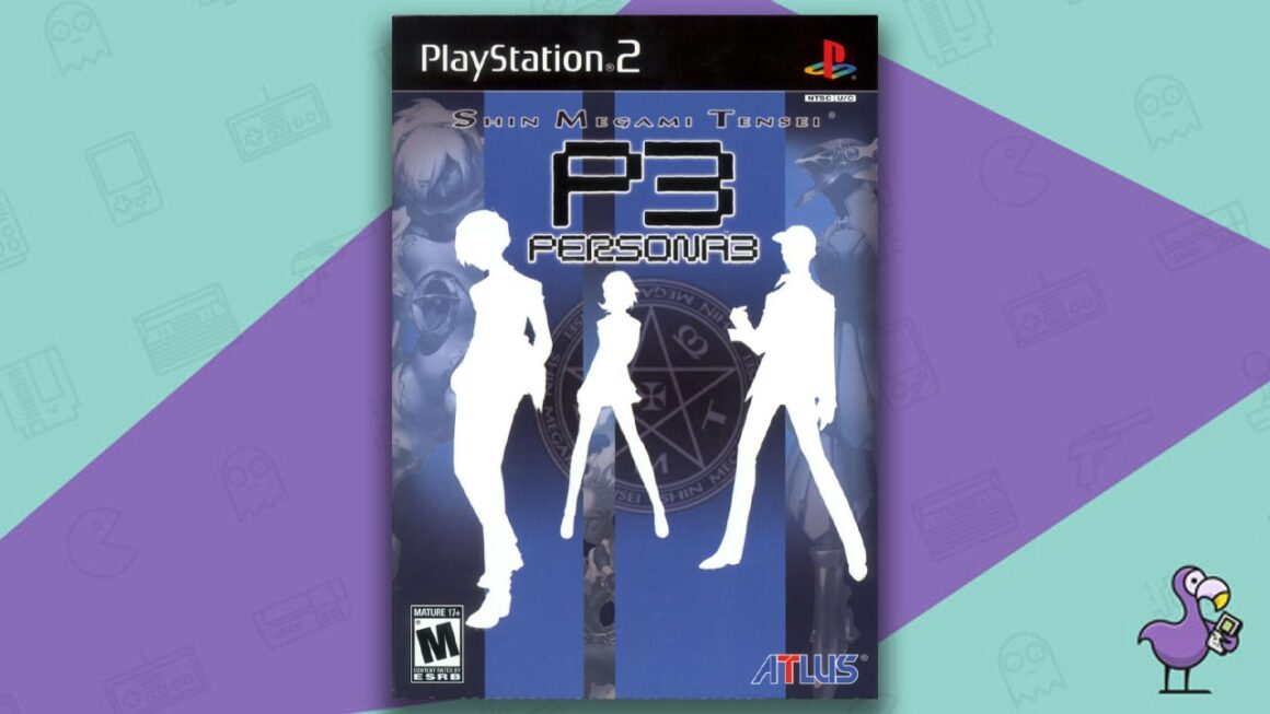 Best PS2 RPGs - Persona 3 Game Case Cover art