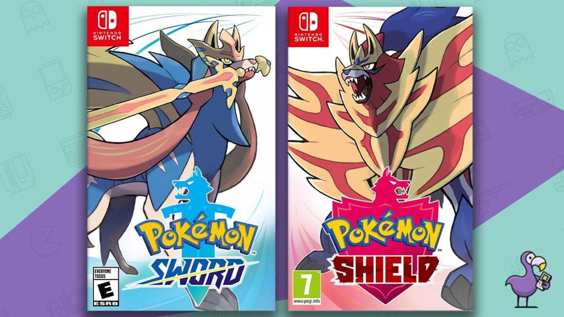Best Nintendo Switch Games - Pokemon Sword & Shield game case cover art