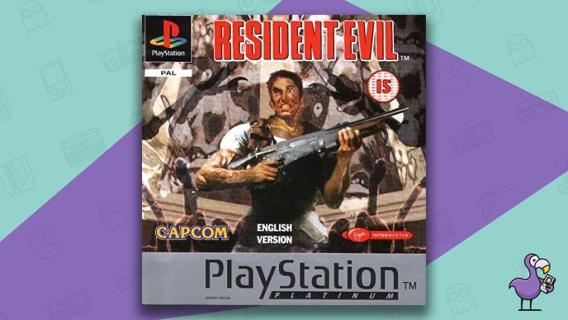 Best PS1 Games - Resident Evil game case cover art