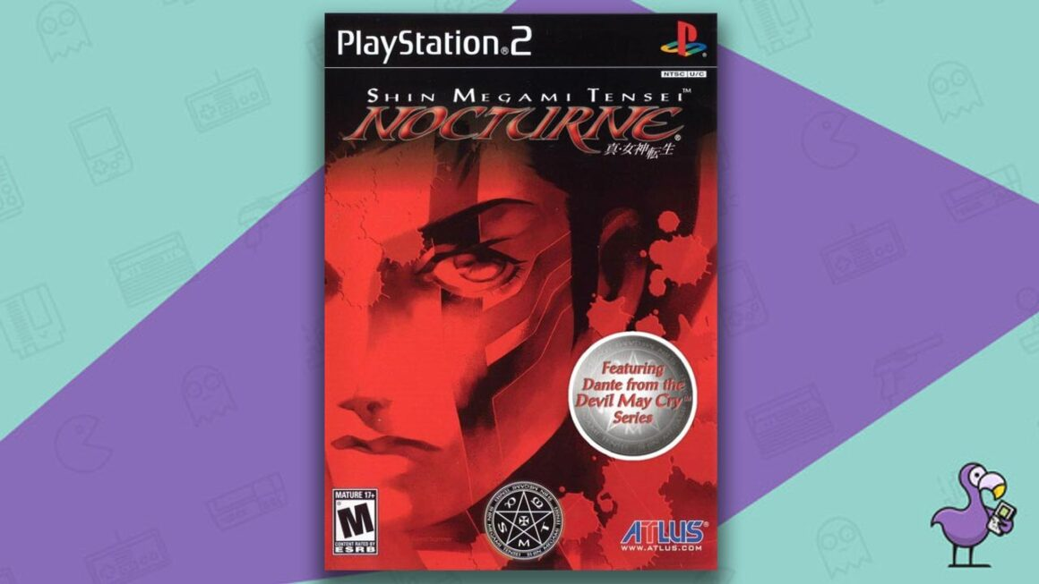 Best PS2 RPGs - Shin Megami Tensei Nocturne 3 game case cover art