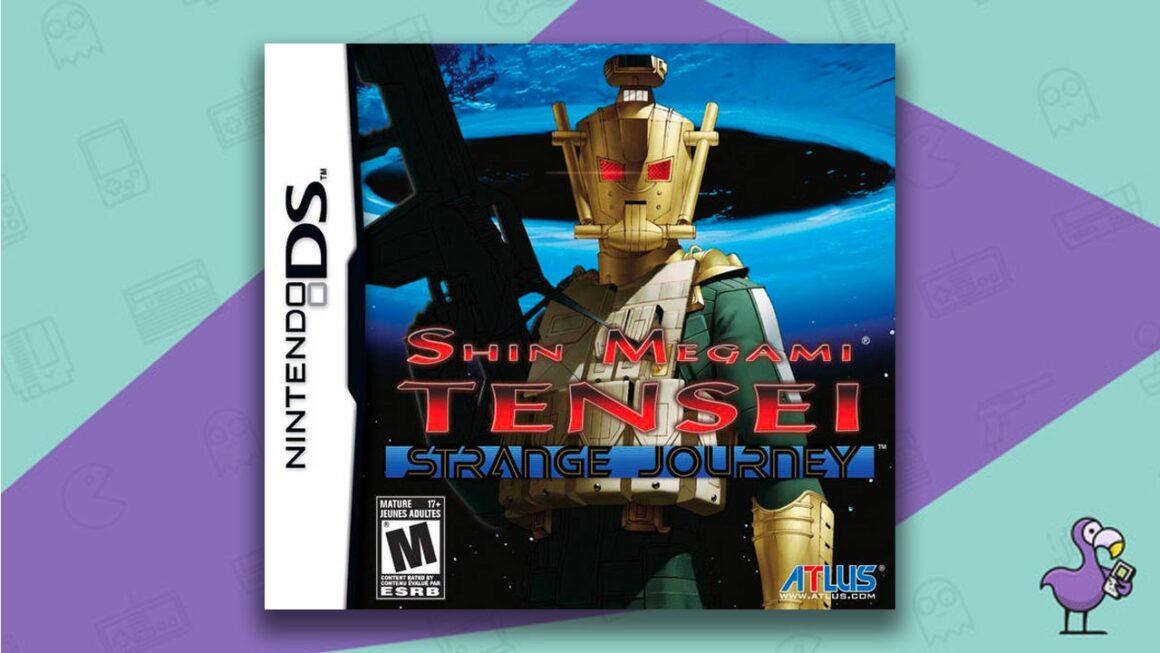 Best DS RPGs - Shin Megami Tensei: Strange Journey game case cover art