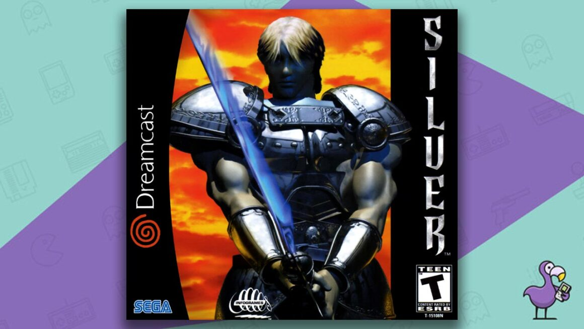 best Dreamcast games - Silver game case cover art