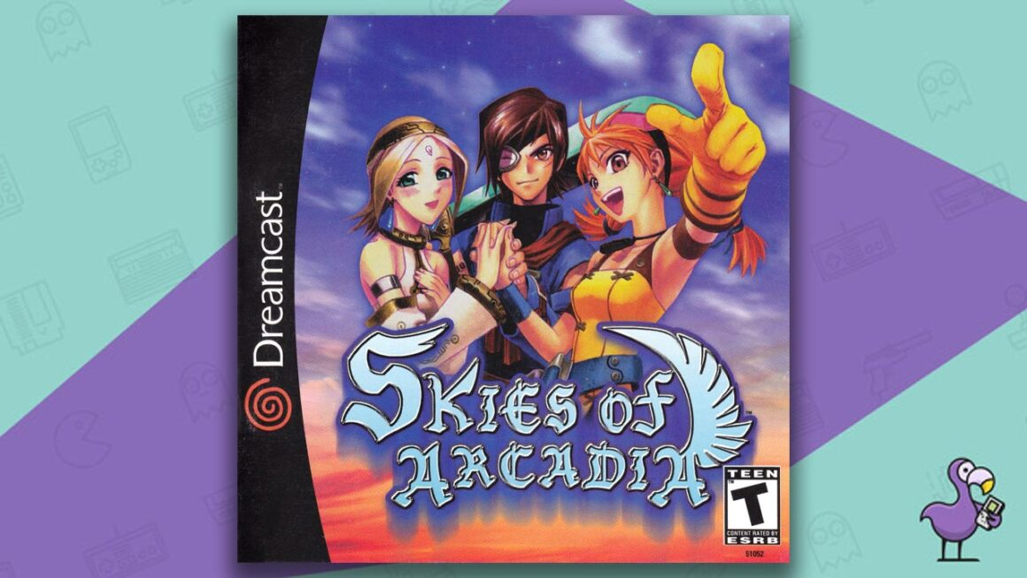 best Dreamcast games - Skies of Arcadia game case cover art