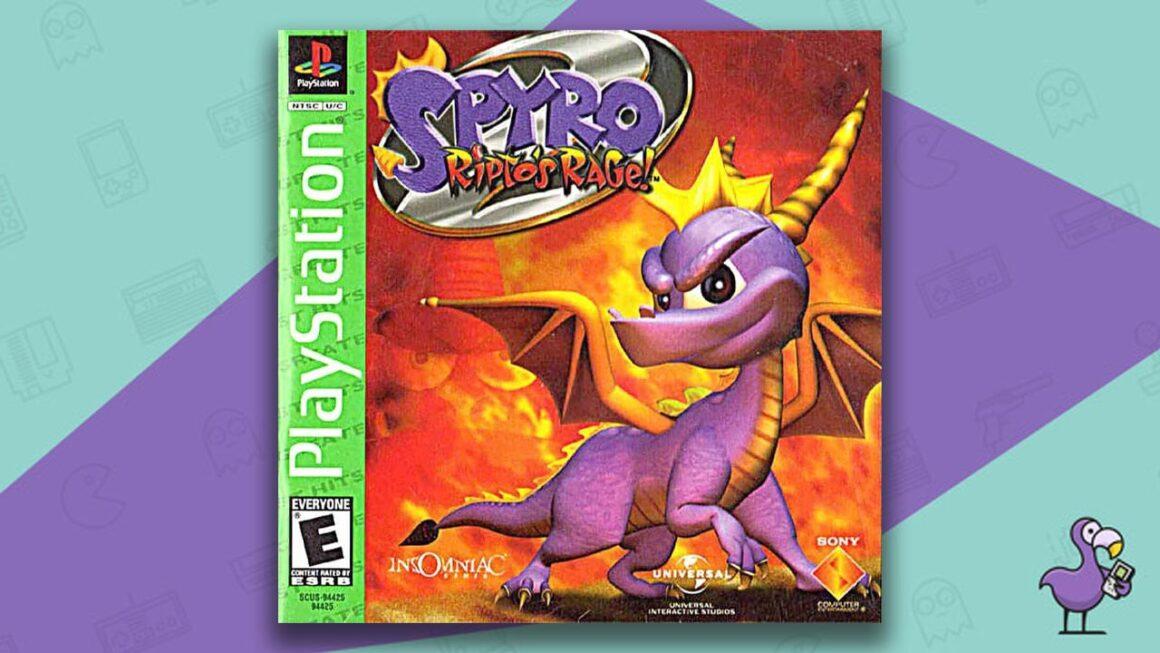 Best PS1 Games - Spyro: Ripto's Rage game case cover art
