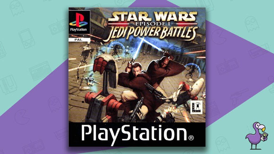 Best PS1 Games - Star Wars: Jedi Power Battles game case cover art