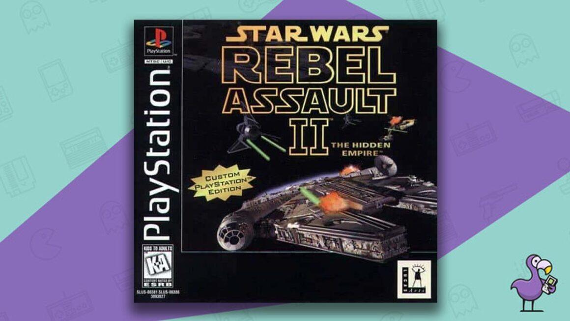 Best PS1 Games - Star Wars: Rebel Assault: The Hidden Empire game case cover art