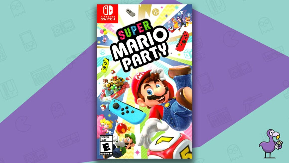 Best Nintendo Switch Games - Super Mario Party game case cover art