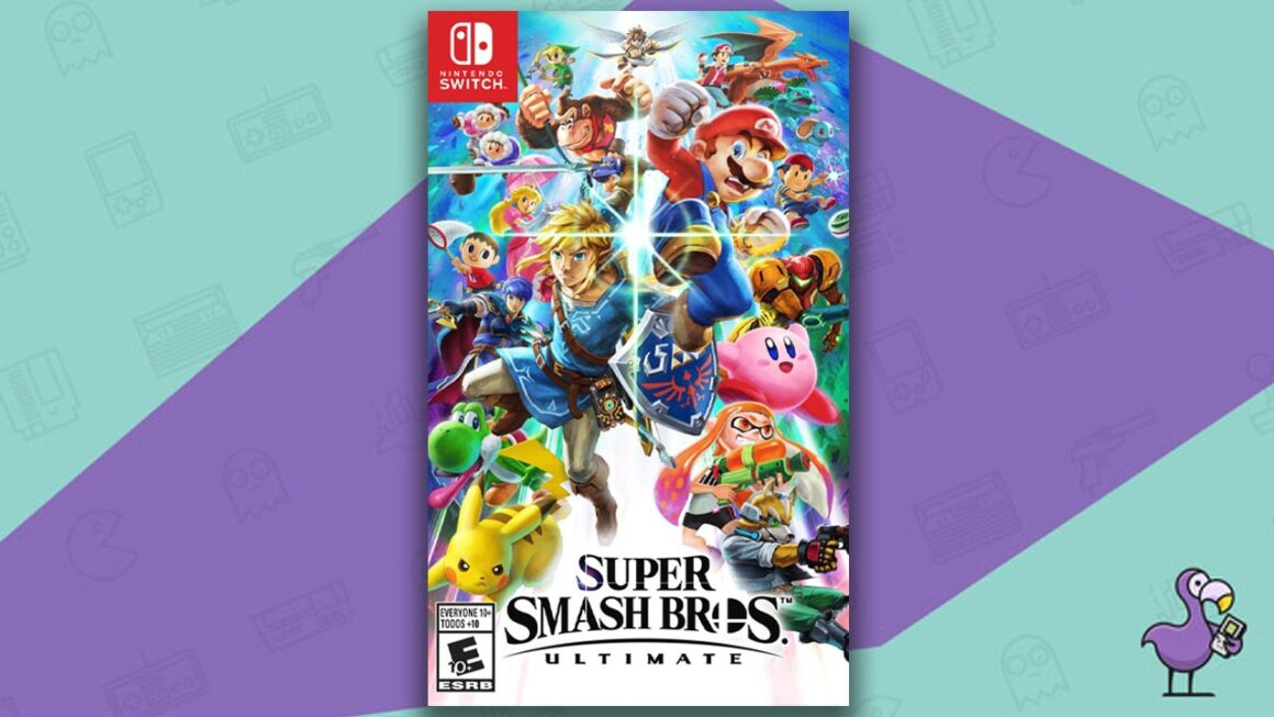 Best Nintendo Switch Games - Super Smash Bros. Ultimate game case cover art