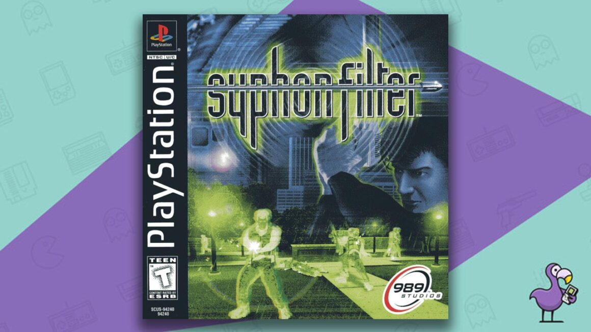 Best PS1 Games - Syphon Filter game case cover art