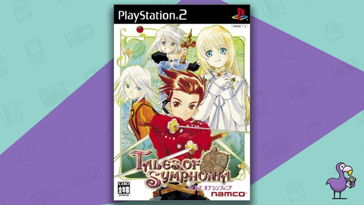 Best PS2 RPGs - Tales Of Symphonia game case cover art