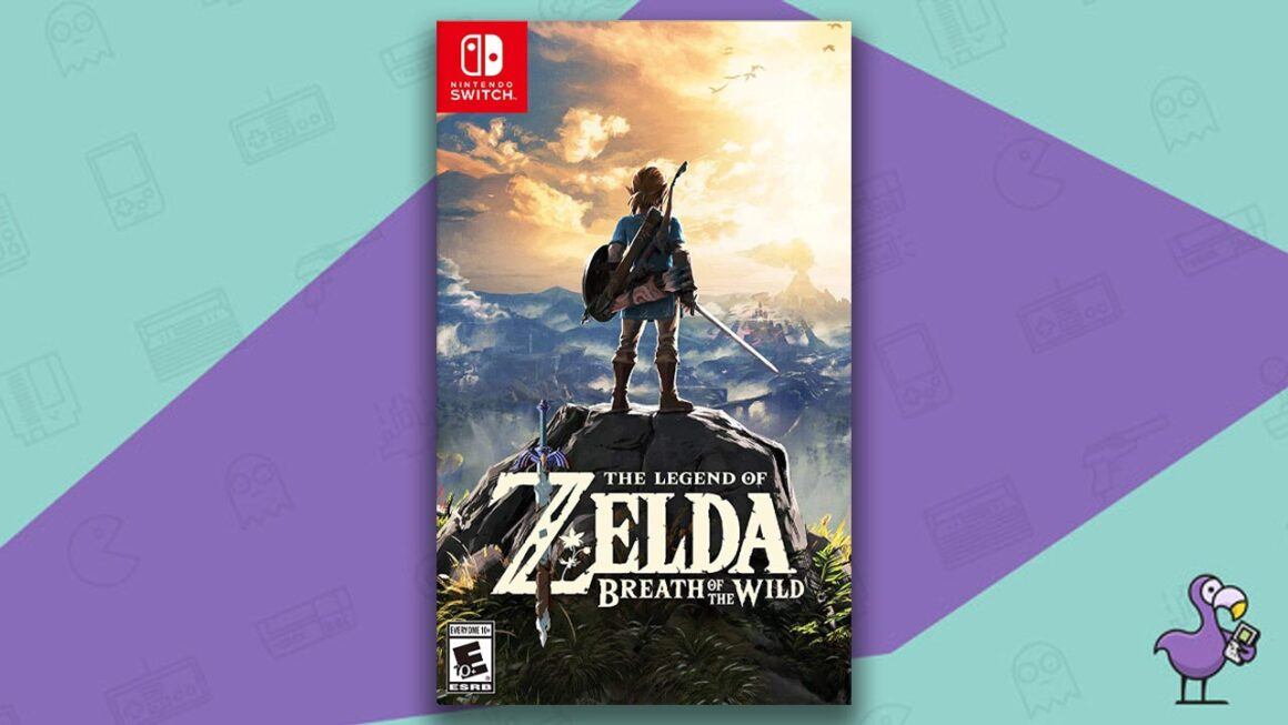 Best Nintendo Switch Games - The Legend of Zelda: breath of the Wild game case cover art
