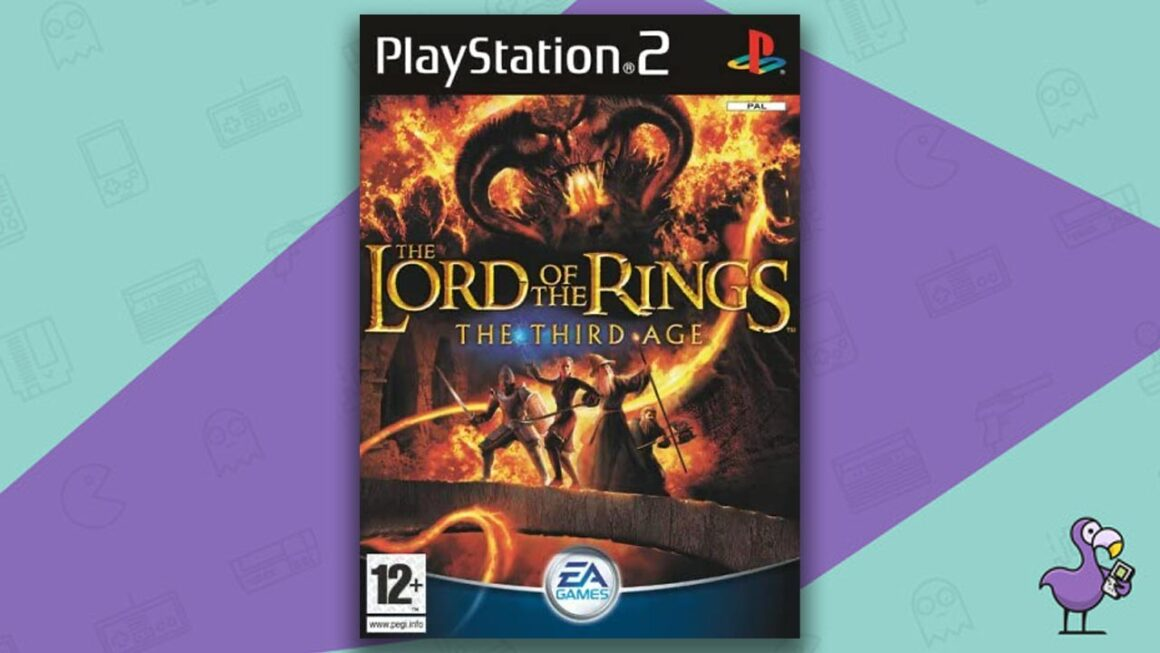 Best PS2 RPGs - The Lord of the Rings The Third Age game case cover art