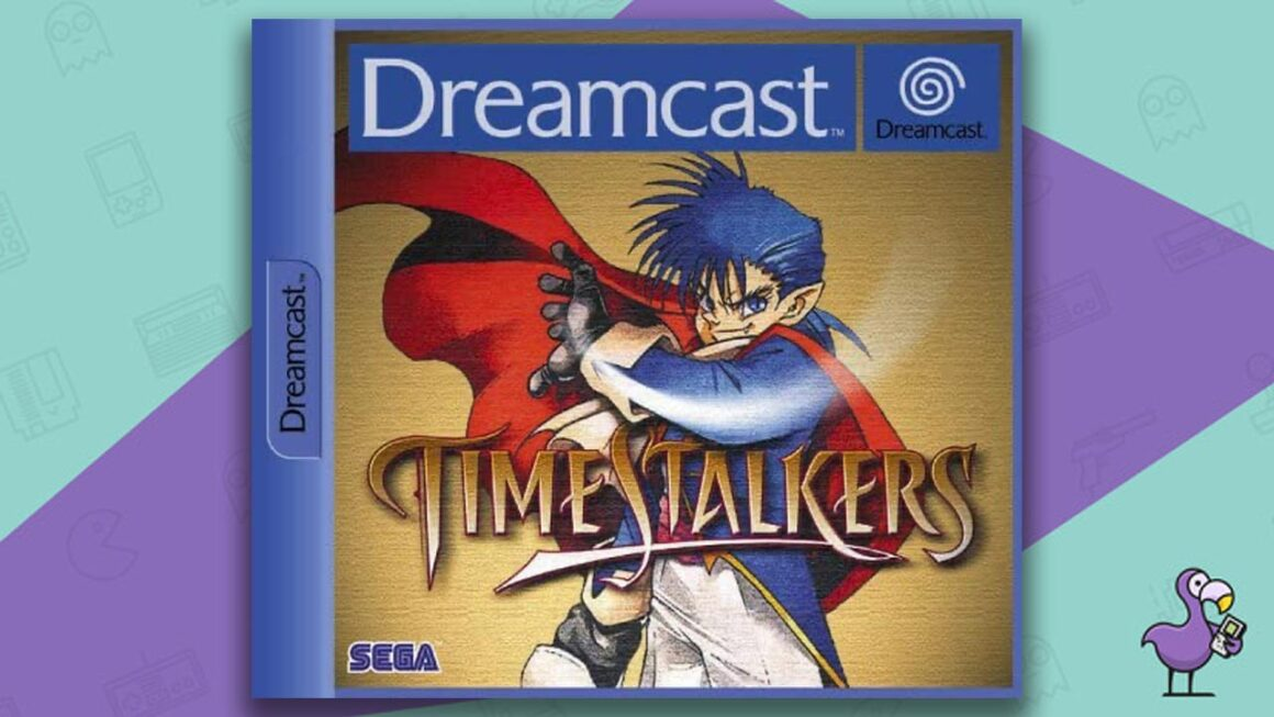 best Dreamcast games - Time stalkers game case cover art