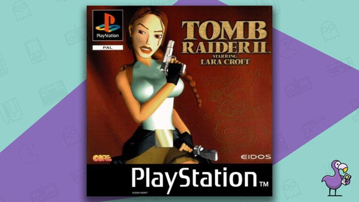 Best PS1 Games - Tomb Raider game case cover art