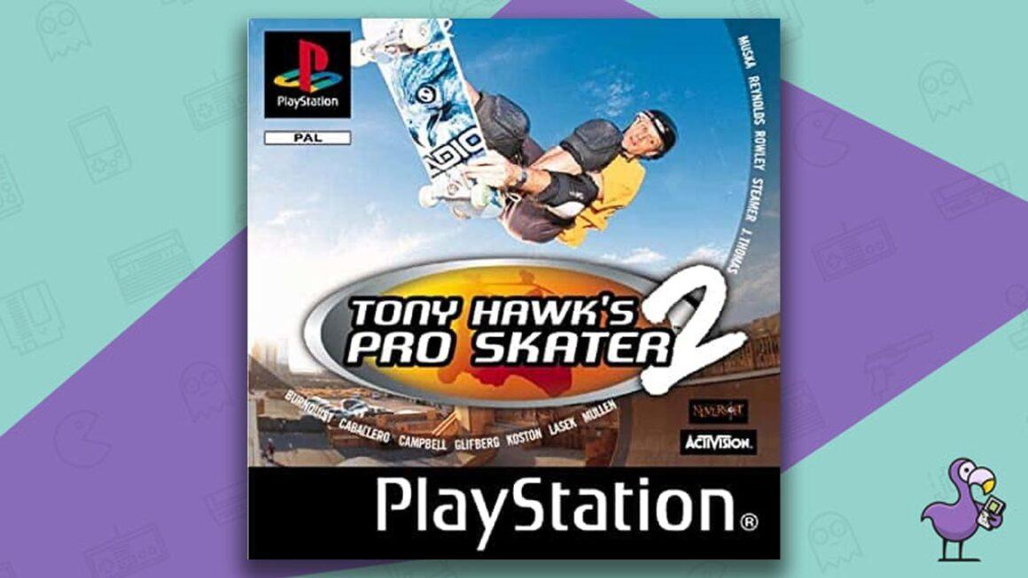 Best PS1 Games - Tony Hawk's Pro Skater 2 game case cover art