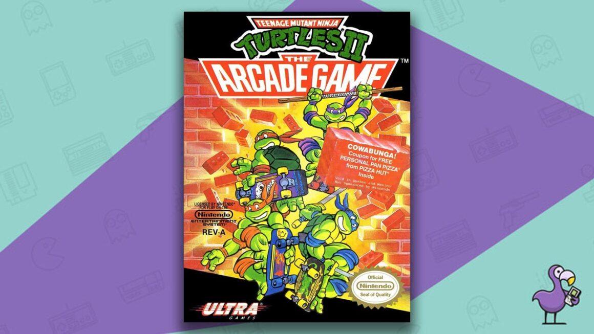 Best NES Games - Teenage Mutant Ninja Turtles 2: The Arcade Game