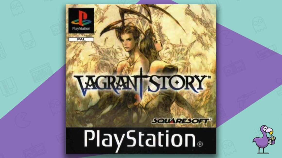 Best PS1 Games - Vagrant Story game case cover art
