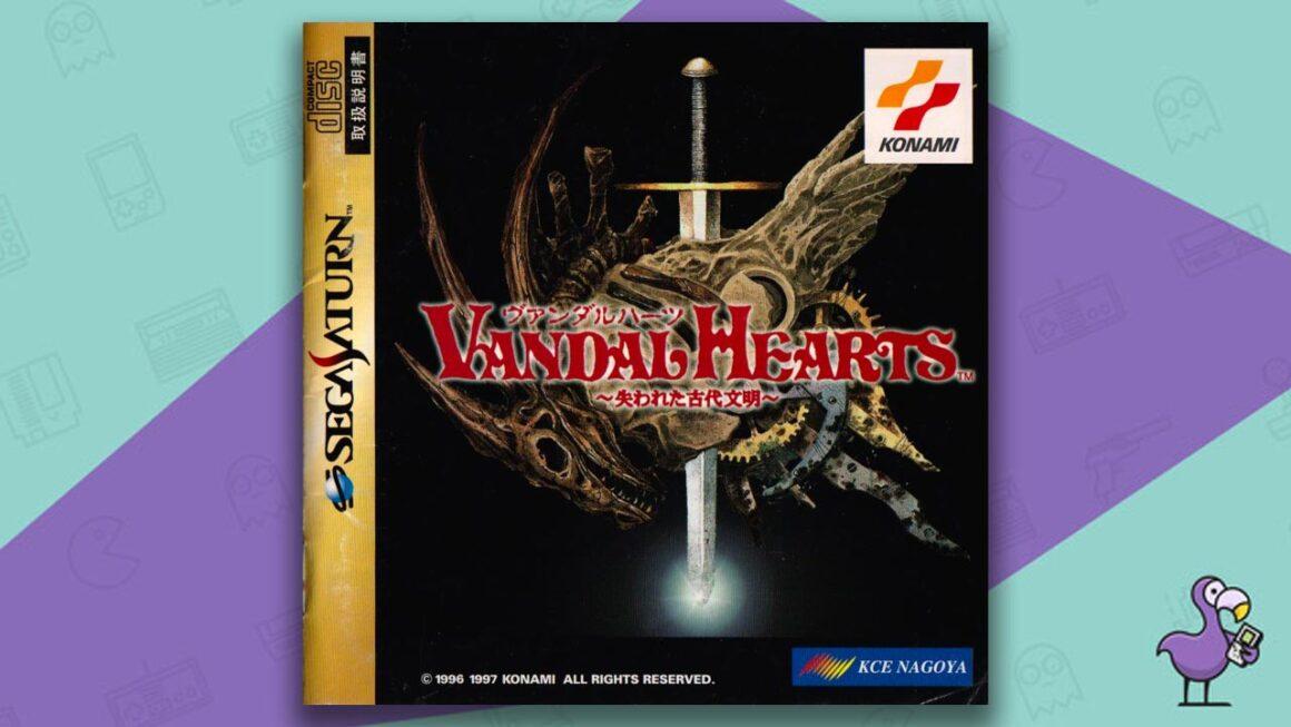 Best Sega Saturn RPGs - Vandal Hearts game case cover art