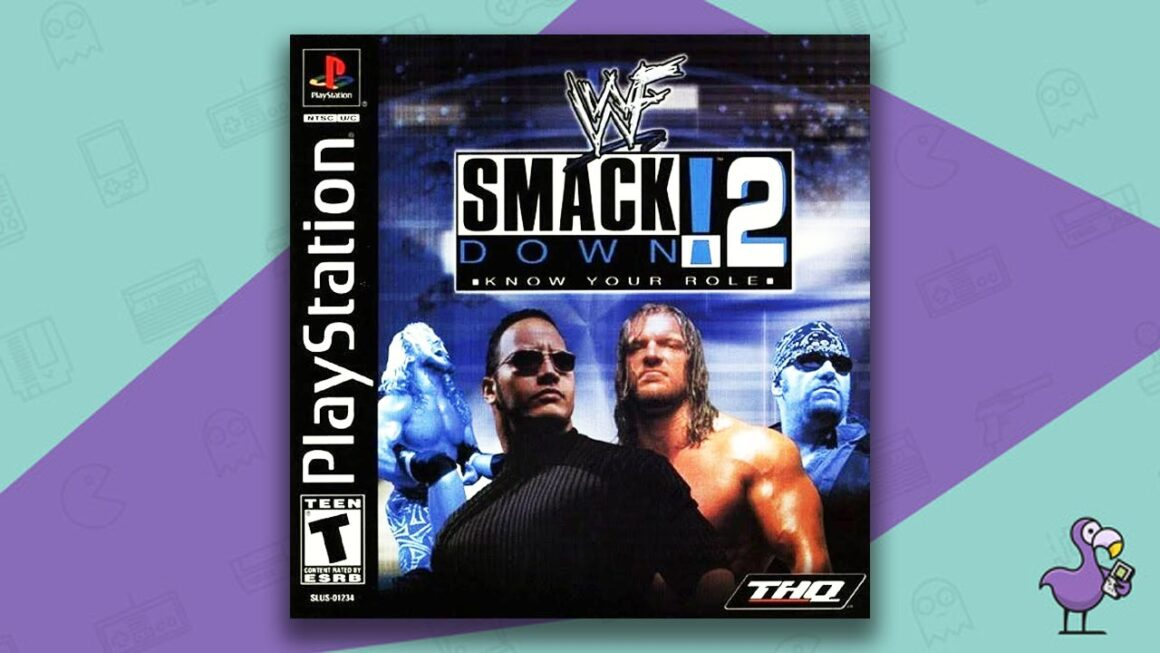 Best PS1 Games - Smackdown! 2: Know Your Role game case cover art