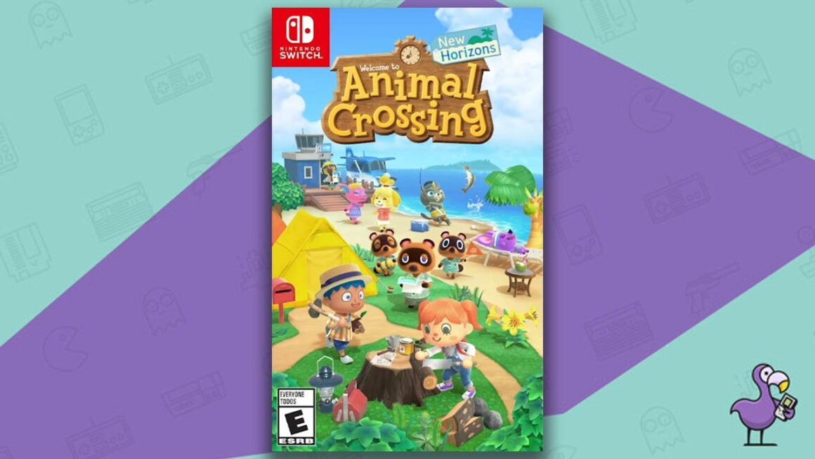 Best Nintendo Switch Games - animal Crossing: New Horizons Game Case Cover Art