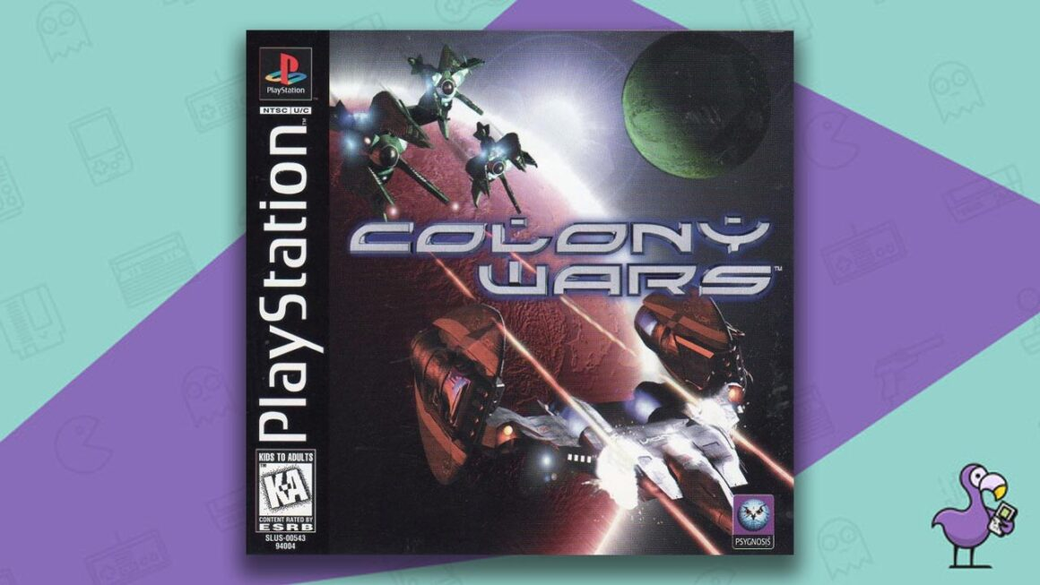 Best PS1 games - colony wars game case cover art
