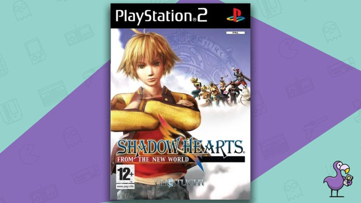 Best PS2 RPGs - Shadow Hearts From The New World Game Case Cover Art