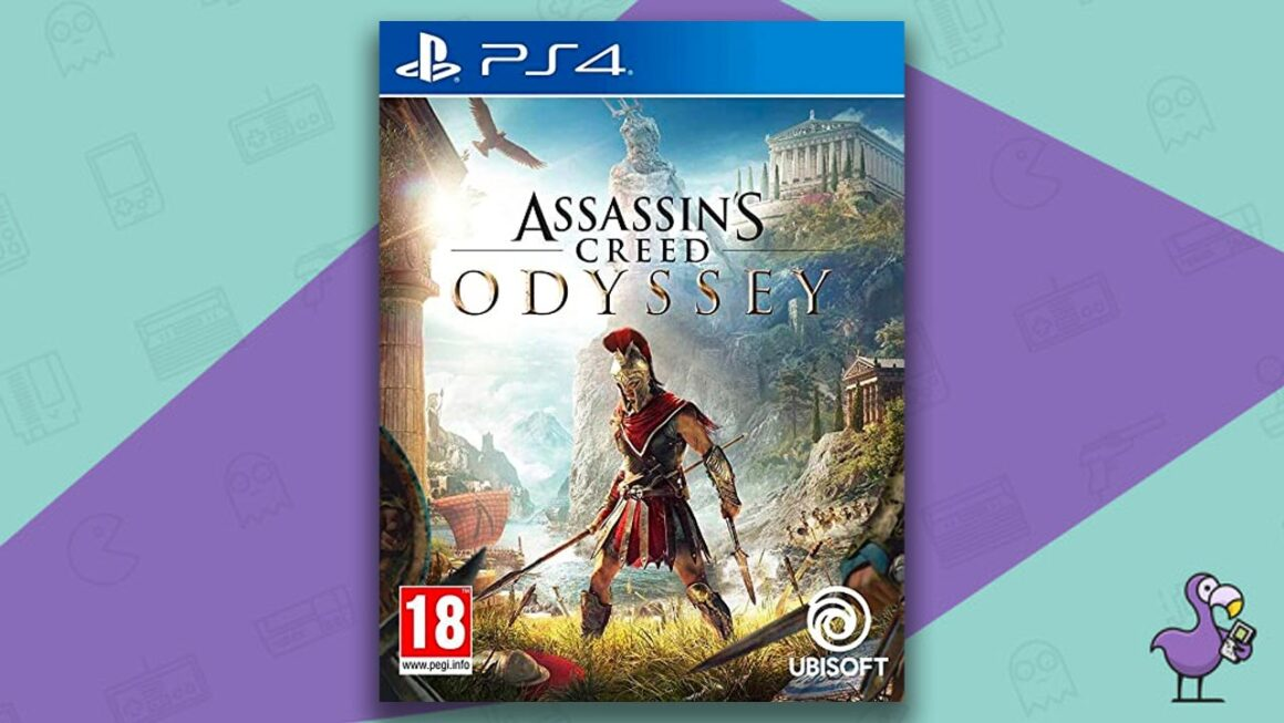 Best PS4 Games - Assasin's Creed Odyssey game case cover art