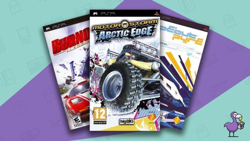 Best PSP Racing Games Retro Dodo Feature Image