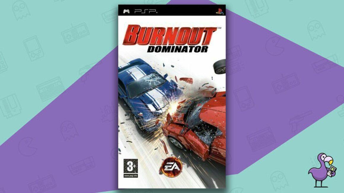 Best PSP racing games - Burnout Dominator game case cover art