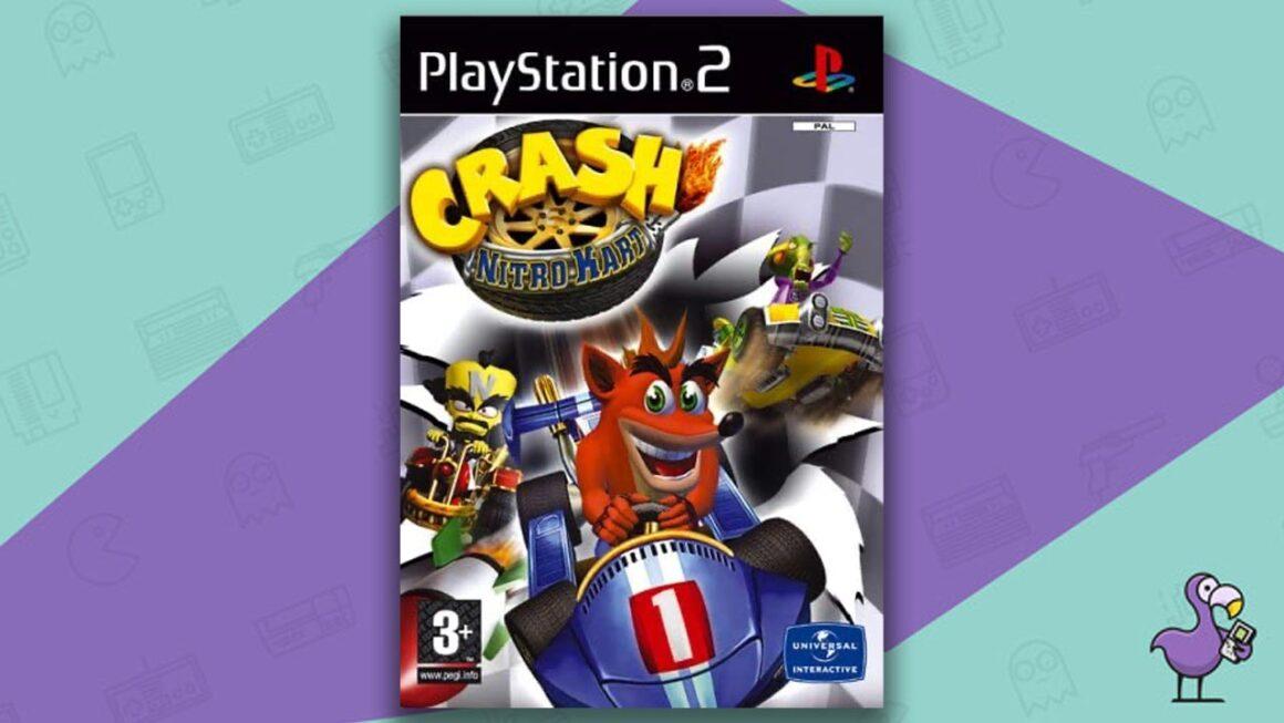 Best PS2 Racing Games - Crash Nitro Kart game case cover art