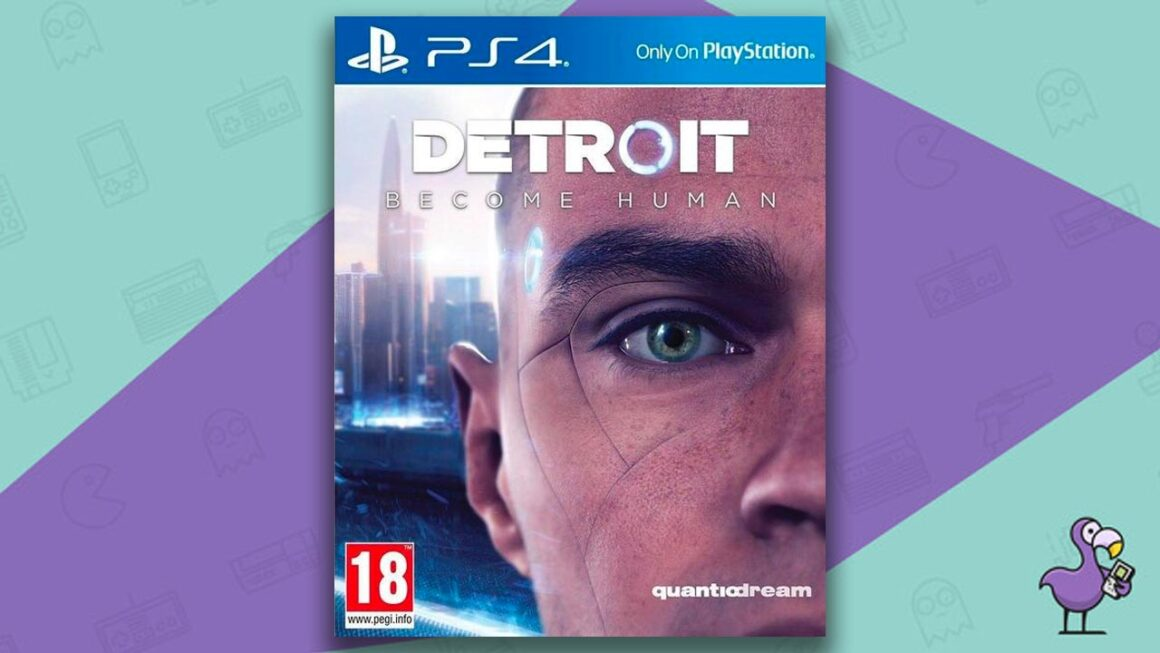 Best PS4 Games - Detroit: Become Human game case cover art