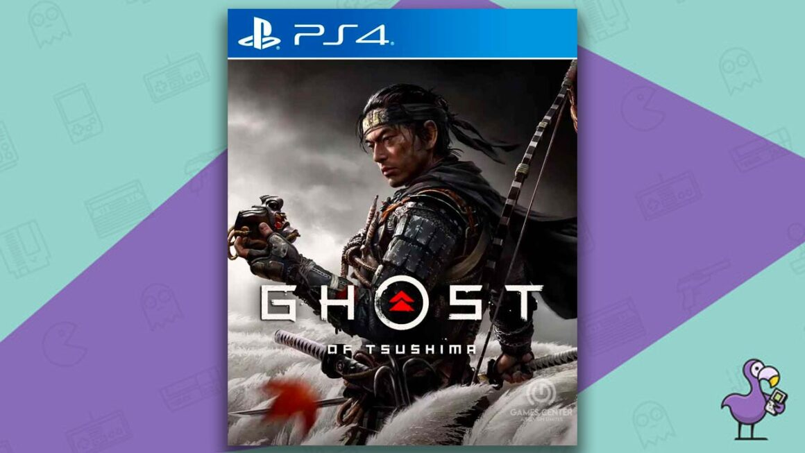 Best PS4 Games - Ghost of Tsushima game case cover art