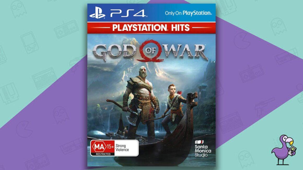 Best PS4 Games - God of War 4 game case cover art