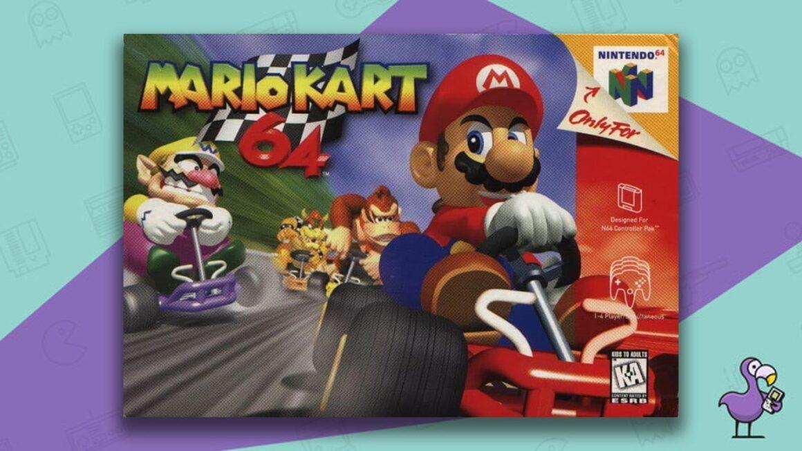 Best N64 Racing Games - Mario Kart 64 game case cover art