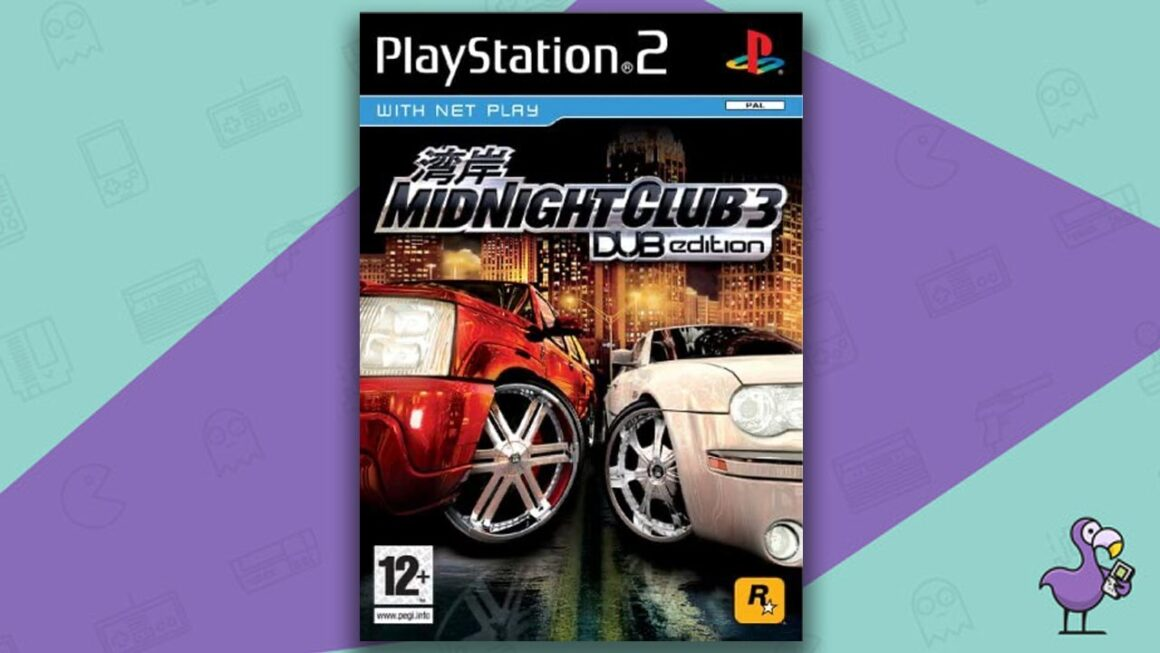 Best PS2 Racing Games - Midnight Club 3: Dub Edition game case cover art