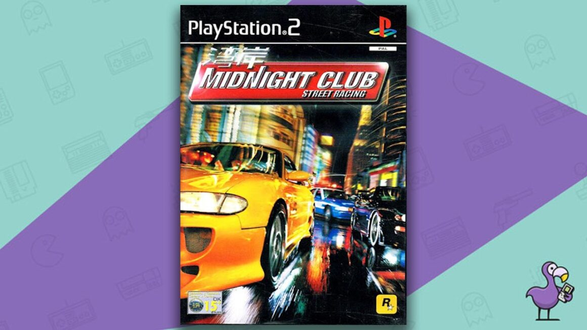 Best PS2 Racing Games - Midnight Club: Street Racing game case cover art