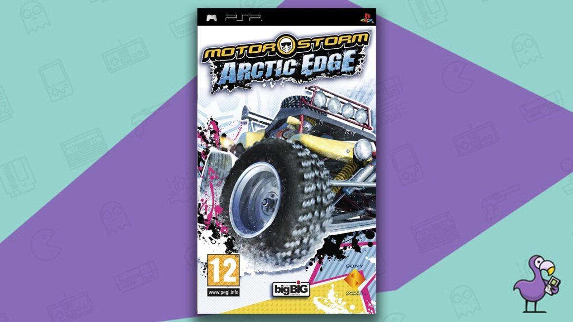 Best PSP racing games - MotorStorm: Arctic Edge game case cover art